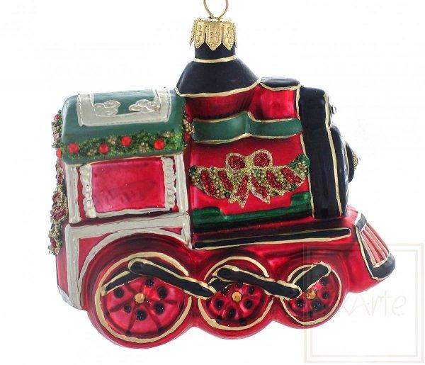 Lokomotive 10cm - Weihnachtsausflug