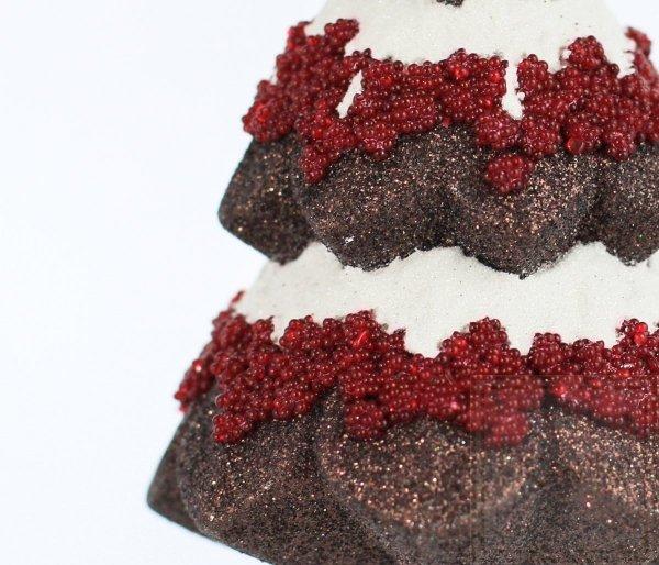 Bombka szklana choinka czekoladowa, Weihnachtsbaum 15cm - Schokolade Versuchung