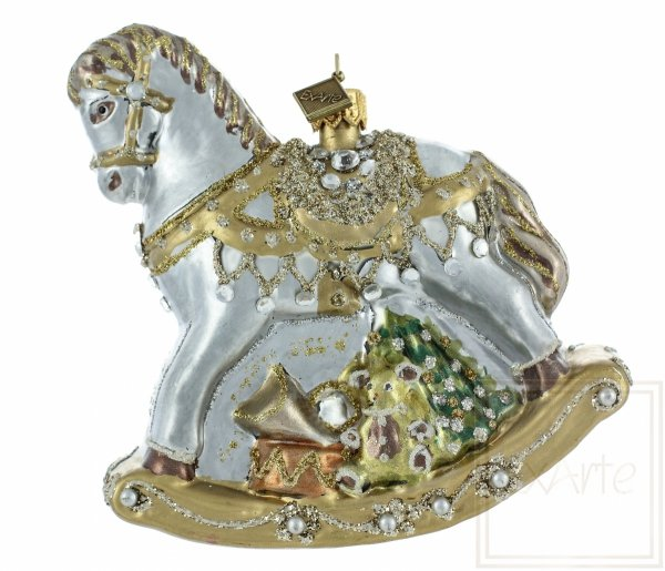 bombka koń / pferd Weihnachtskugeln