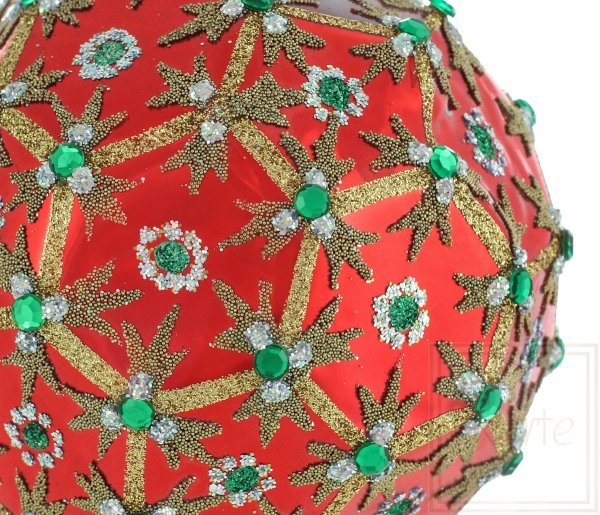 Polyeder 10cm – Smaragd-Wiese