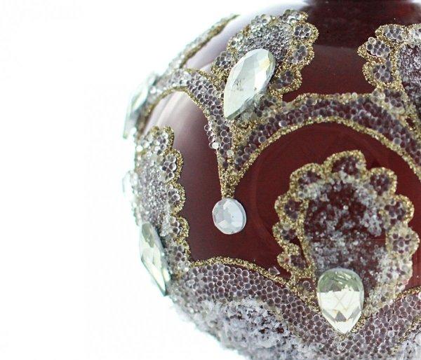 Spitze 42cm – Kristall-Fächer