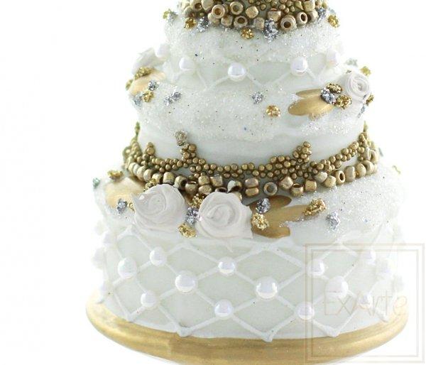 Torte 12 cm – Mit Rosen