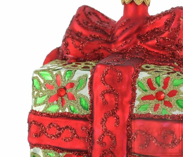 bombki czerwowne / Weihnachtskugeln Geschenk