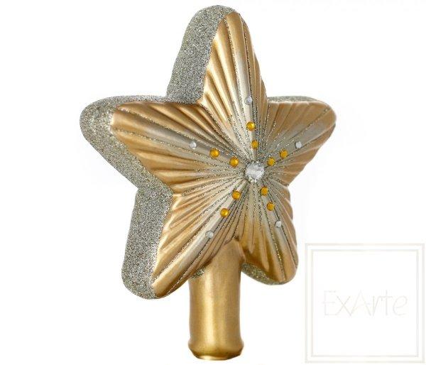 Gwiazda z bursztynkami 16,5 cm