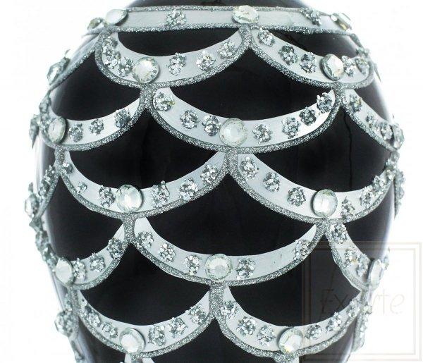 Weihnachtskugeln Schwarz, czarne bombki, black baubles
