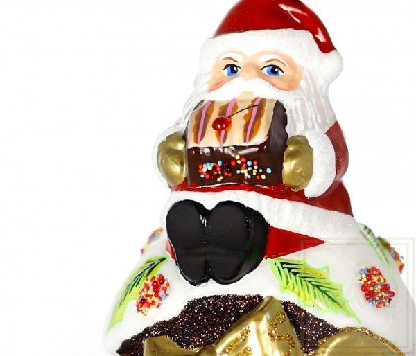 Babeczka z Mikołajem -  11cm
