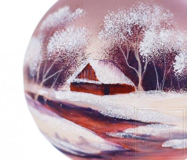 Kula 10cm - W śnieżnej szacie