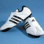 obuwie Adidas Adi-Lux do sztuk walki-białe