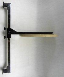 Platforma bokserska do ściany regulowana jednoramienna PB-10 1K