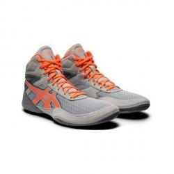 Buty Asics MatFlex 6 -szaro-pomarańczowe - dla dzieci