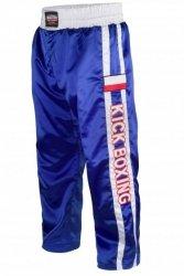 Spodnie sportowe długie MASTERS - SKBP-100A-niebieskie