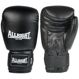 Rękawice bokserskie skóra - czarne