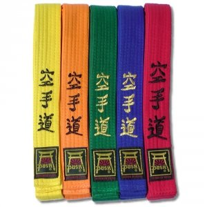 Pasy z haftem KARATE-DO standard