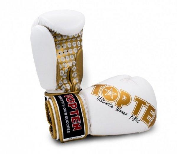 """Rękawice bokserskie TOP TEN """"Woman"""" 10 oz"""