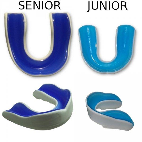 Szczęki dwuwarstwowe elastomer i guma