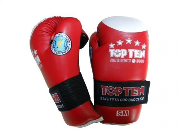 Rękawice otwarte TOP TEN z aprobatą ITF