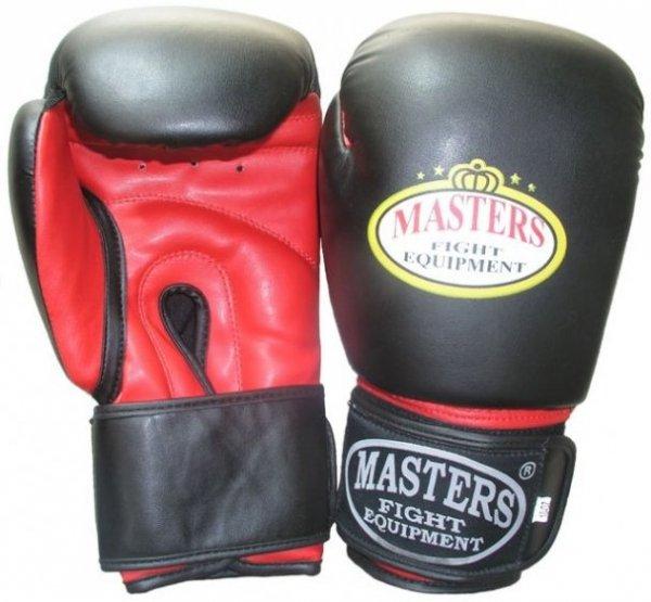 Rękawice bokserskie MASTERS - RPU-3 -skaj