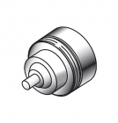 Adapter do zaworów M28 Herz do głowic termostatycznych