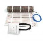 Zestaw: Mata grzejna DEVIheat 150S (DSVF-150)  600W / 4m2 / 0,5x8m + Termostat DEVIreg 528