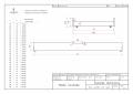 DMPB 90x180 Łóżko piętrowe dziecięce domek Mila ADEKO
