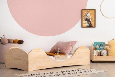 PEPE 1 100x170cm Łóżko drewniane dziecięce