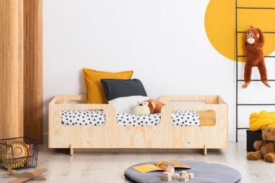 KIKI 17  90x150cm Łóżko dziecięce drewniane ADEKO