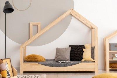 Luna E 70x160cm Łóżko dziecięce domek ADEKO