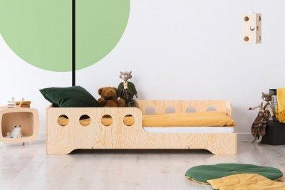 KIKI 5 - P  90x170cm Łóżko dziecięce drewniane ADEKO
