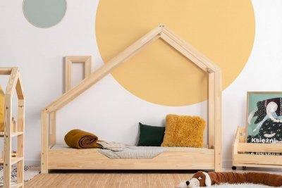 Luna B 80x170cm Łóżko dziecięce drewniane ADEKO