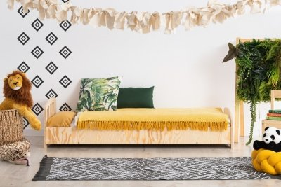 KIKI 18  80x150cm Łóżko dziecięce drewniane ADEKO