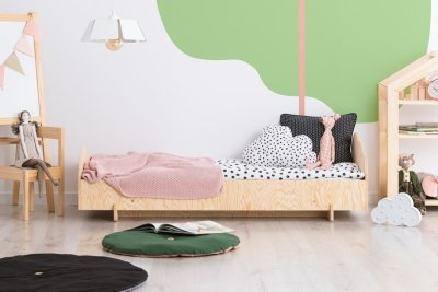 KIKI 7  80x180cm Łóżko dziecięce domek ADEKO
