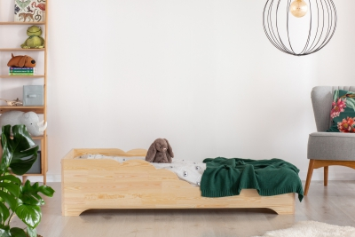 BOX 11 60x120cm Łóżko drewniane dziecięce