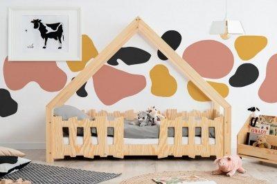 GATO 80x180cm Łóżko dziecięce domek ADEKO