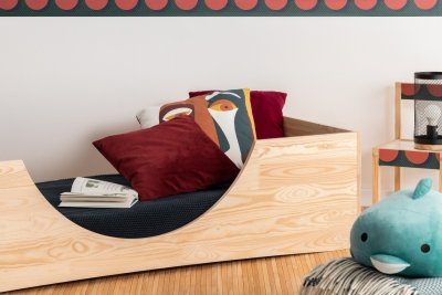 PEPE 2 80x180cm Łóżko drewniane dziecięce