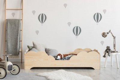 BOX 10 80x180cm Łóżko drewniane dziecięce