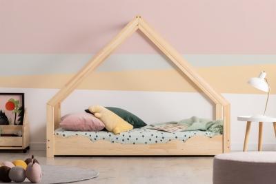 Loca D 80x170cm Łóżko dziecięce drewniane ADEKO