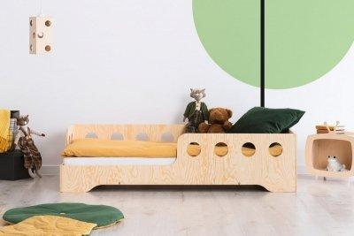 KIKI 5 - L  80x170cm Łóżko dziecięce drewniane ADEKO