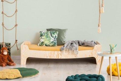 KIKI 10  90x150cm Łóżko dziecięce drewniane ADEKO