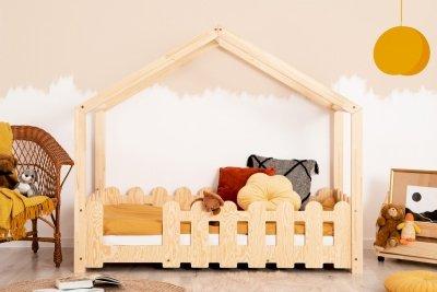 ZIZI B 70x160cm Łóżko dziecięce domek ADEKO