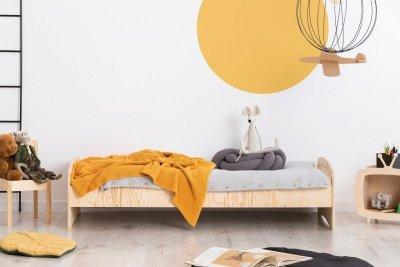 KIKI 11  90x150cm Łóżko dziecięce drewniane ADEKO