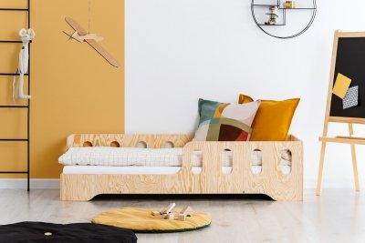 KIKI 1 - L  80x190cm Łóżko dziecięce drewniane ADEKO