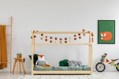 Mila MM 80x140cm Łóżko dziecięce domek ADEKO