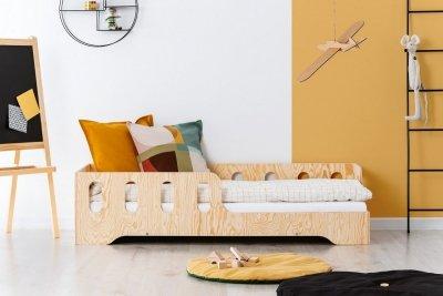 KIKI 1 - P 80x170cm Łóżko dziecięce drewniane ADEKO