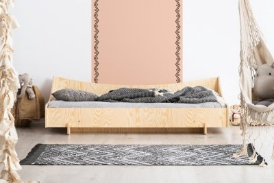 KIKI 8  80x140cm Łóżko dziecięce domek ADEKO