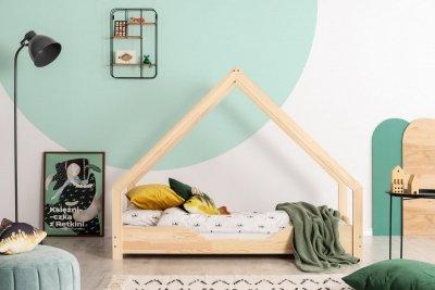 Loca B 80x150cm Łóżko dziecięce drewniane ADEKO