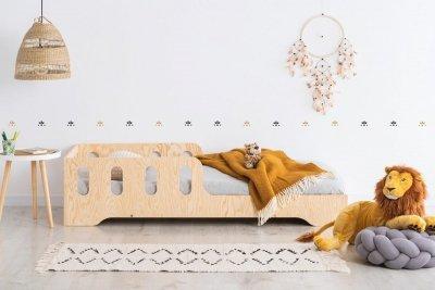 KIKI 6  80x180cm Łóżko dziecięce domek ADEKO