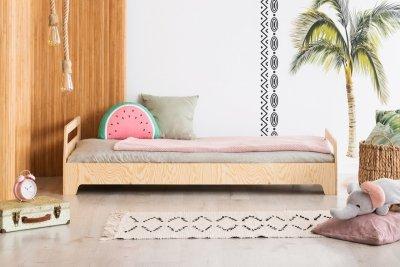 KIKI 12  90x170cm Łóżko dziecięce drewniane ADEKO