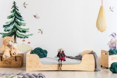 PEPE 6 90x190cm Łóżko drewniane dziecięce