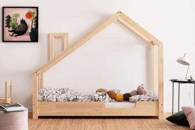 Luna C 80x140cm Łóżko dziecięce domek ADEKO