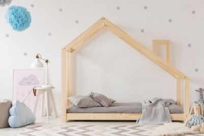 DMS 80x180cm Łóżko dziecięce domek Mila ADEKO